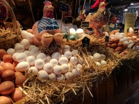 Local, fresh eggs