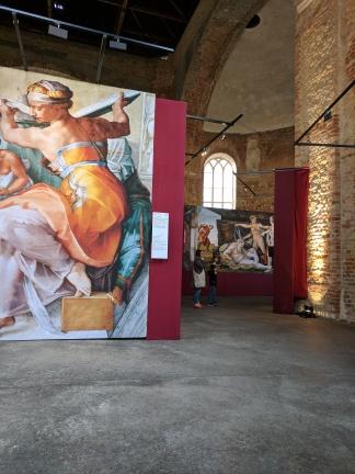 Michealangelo Exhibit