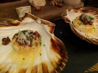 Scallops with Iberian Ham